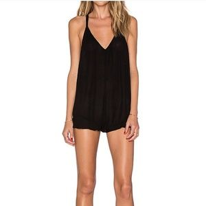 Lovers + Friends Bonita romper in black